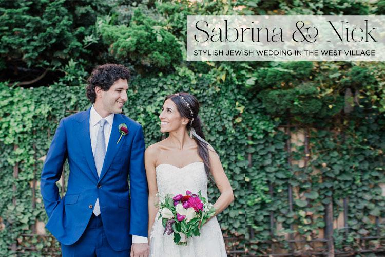 Jewish-wedding-at-632-on-Hudson-West-Village-New-York