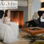 A Pronovias bride for a 'Northerner & The Jew' interfaith Jewish wedding at Corinthia Hotel London, UK
