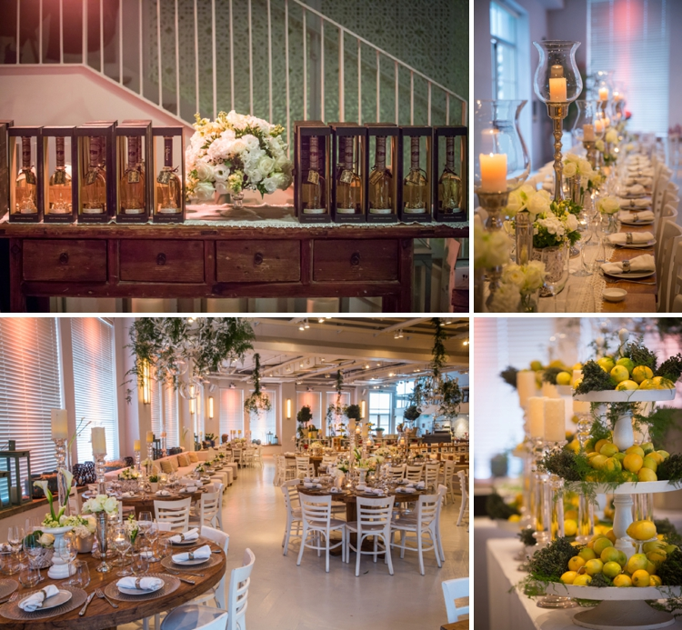 Elegant-casual 'garden market' destination wedding on the beach at Bayit Al Hayam, Jaffa, Tel Aviv, Israel