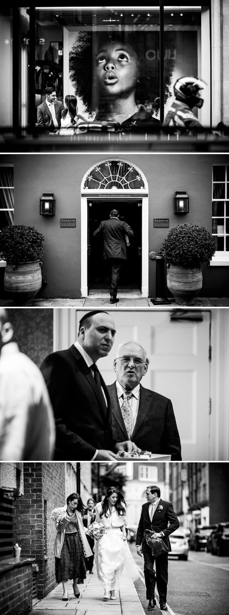 Mexican Jewish Wedding Searcys at 30 Pavilion Road London UK