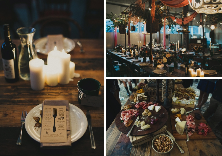 Rustic bohemian wedding