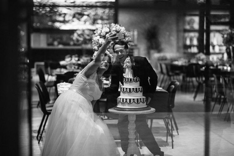 A 'geeky-fairytale ball' Jewish wedding at East-TLV, Tel Aviv, Israel