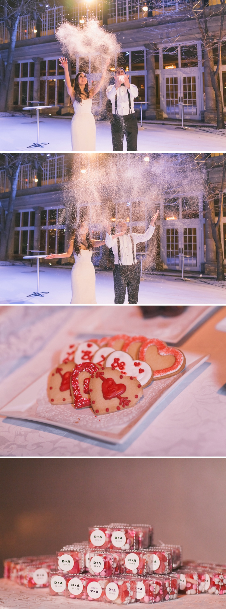 A Valentine\'s Day Jewish Wedding in the snow, at The Liberty Grand ...