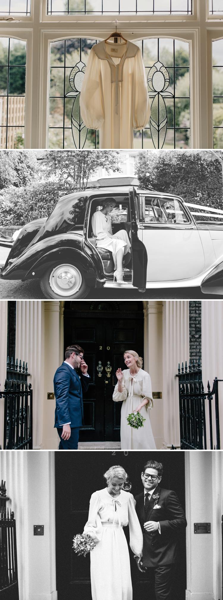 Ossie Clarke Wedding Dress