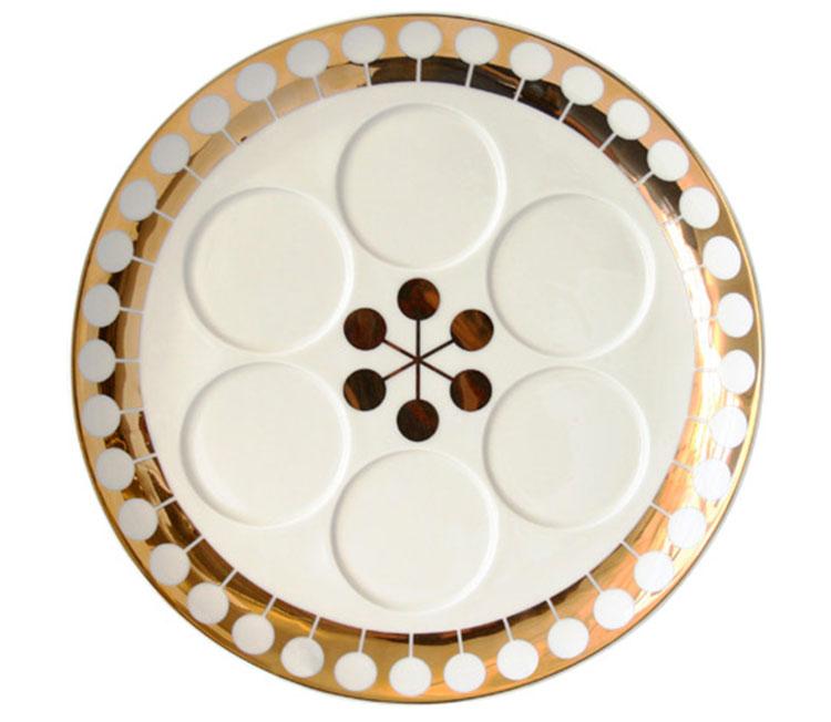 Modern-Seder-Plate