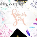 STG Recommends: Blush and Gold Wedding Stationery