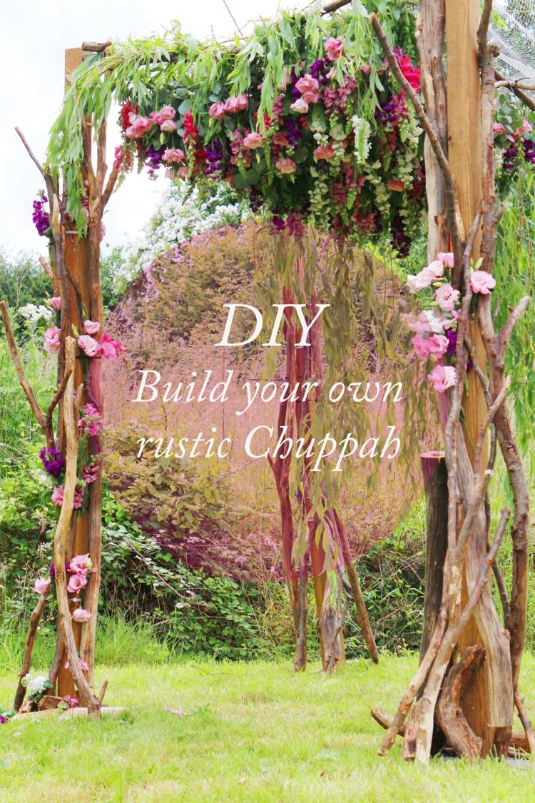 How To Build A Chuppah