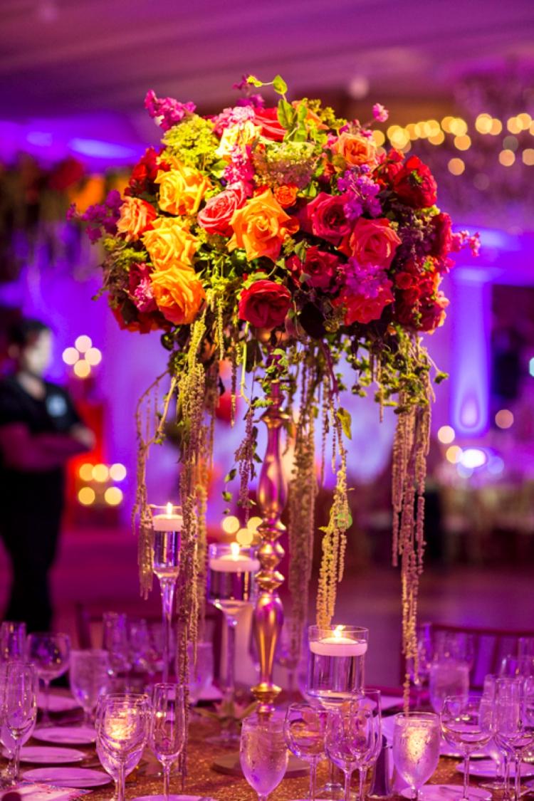 Indo-Italian-Jewish wedding at The Garden City Hotel, Long Island, New York, USA