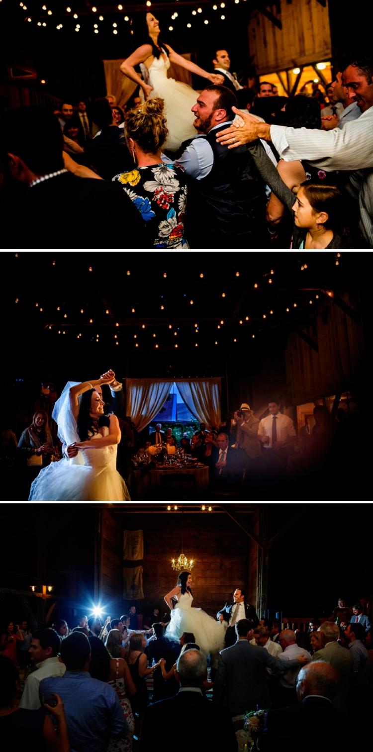 Jewish rustic wedding at Olympia's Valley Estate in Petaluma, California.