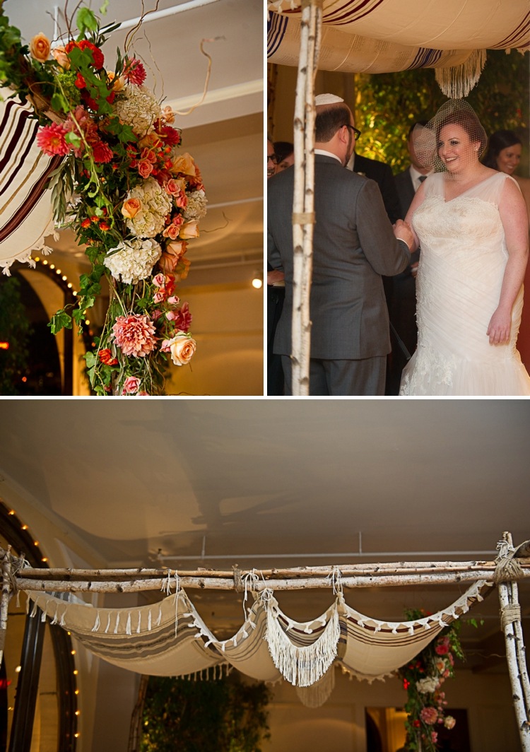 chuppah birch tree