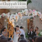 Chuppah ideas & styling for a modern Jewish wedding