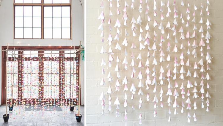 origami chuppah