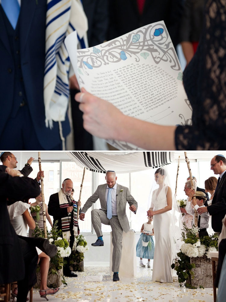 breaking-the-glass-ketubah