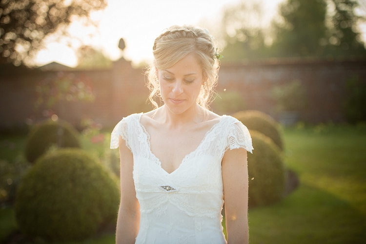 Bride Ashley wearing Cymbeline from Mirror Mirror | Image by Claudine Hartzel from Ashley and Adam's wedding