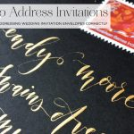 How to Address Wedding Invitations + Envelope Etiquette