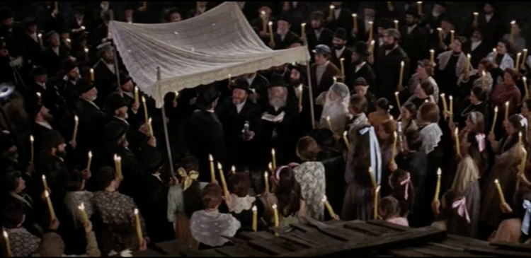 fiddler on the roof wedding chuppah