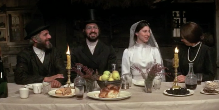 fiddler on the roof wedding table
