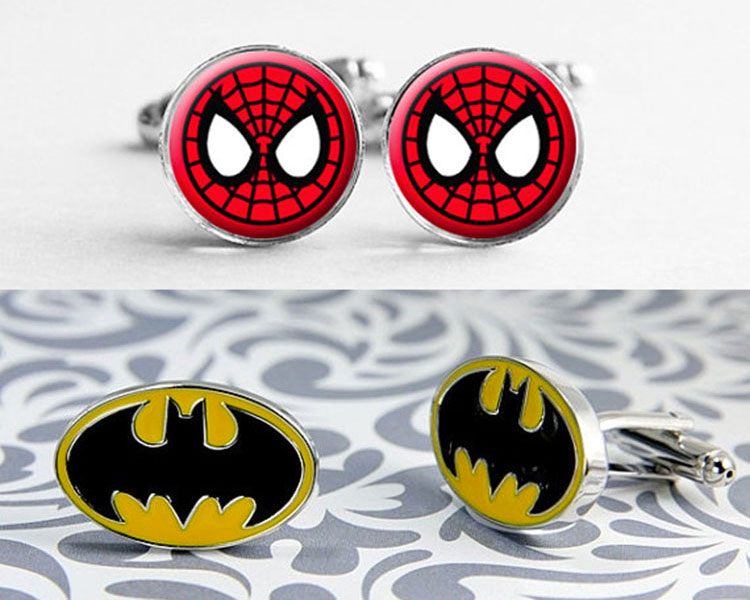 superhero-cufflinks