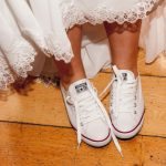 Five ways to wear personalised wedding Converse