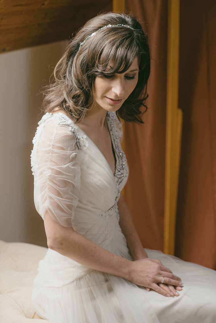 a whimsical woodland jewish wedding with a jenny packham gown at