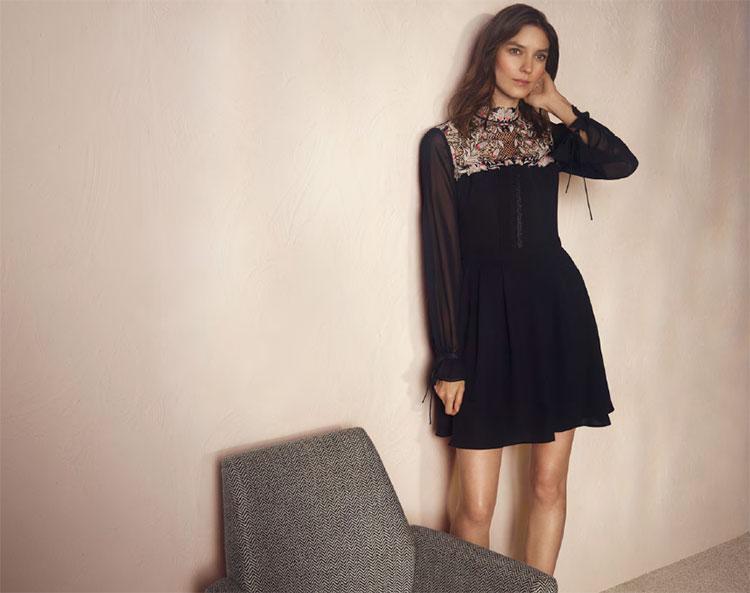 Embroidered-lace-dress-Karen-Millen