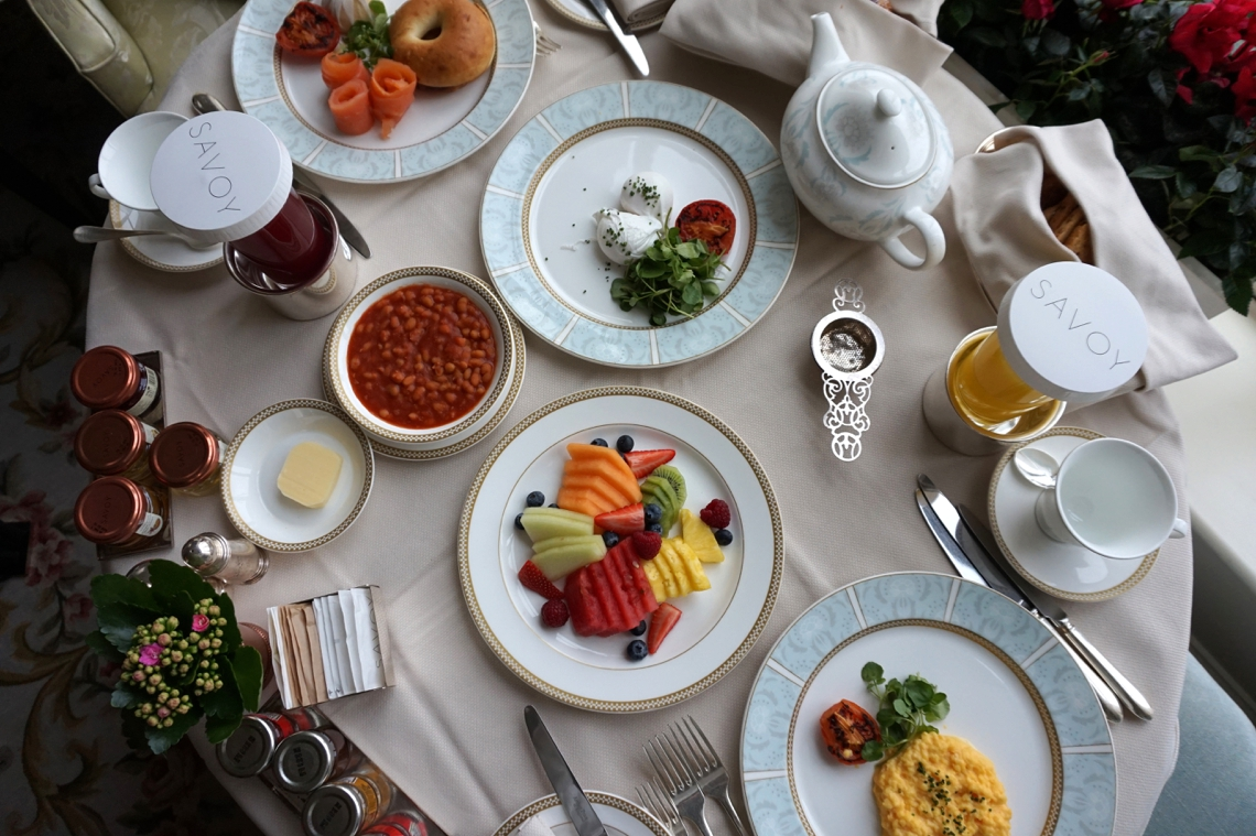 Breakfast at The Savoy