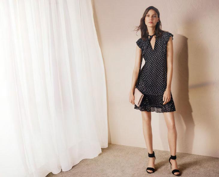 Karen-Millen-Polka-Dot-dress