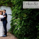 A Boho Beautiful Jewish wedding with a Rue de Seine gown at Northbrook Park, UK