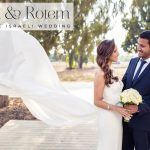 A chic Israeli wedding with a Tali & Marianna gown at The Q, Galil Yam, Israel