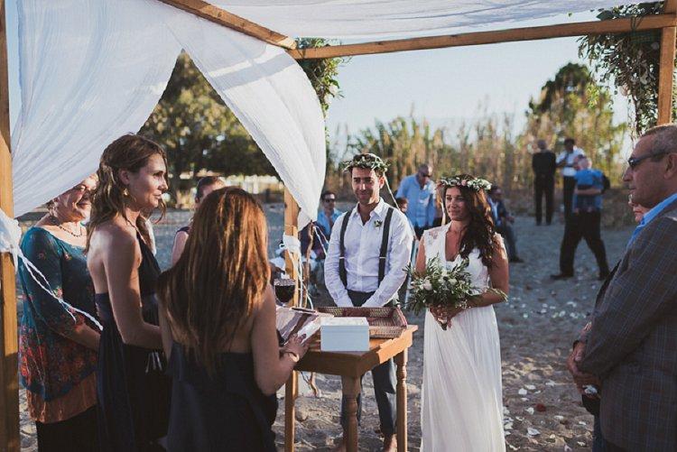Destination Jewish Greek wedding on the beach in Crete_0013