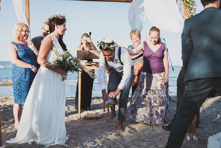Destination Jewish Greek wedding on the beach in Crete_0014