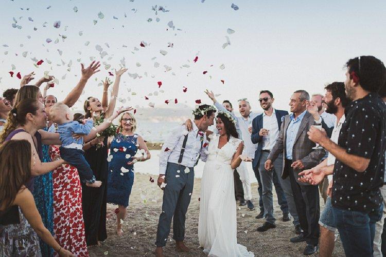 Destination Jewish Greek wedding on the beach in Crete_0016