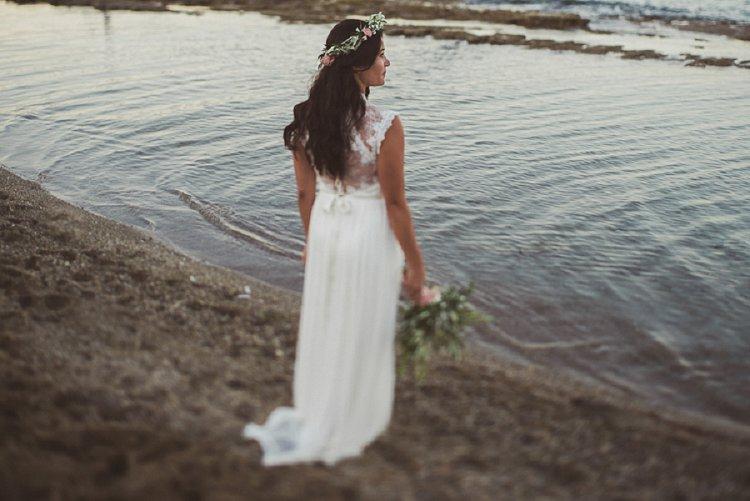 Destination Jewish Greek wedding on the beach in Crete_0023