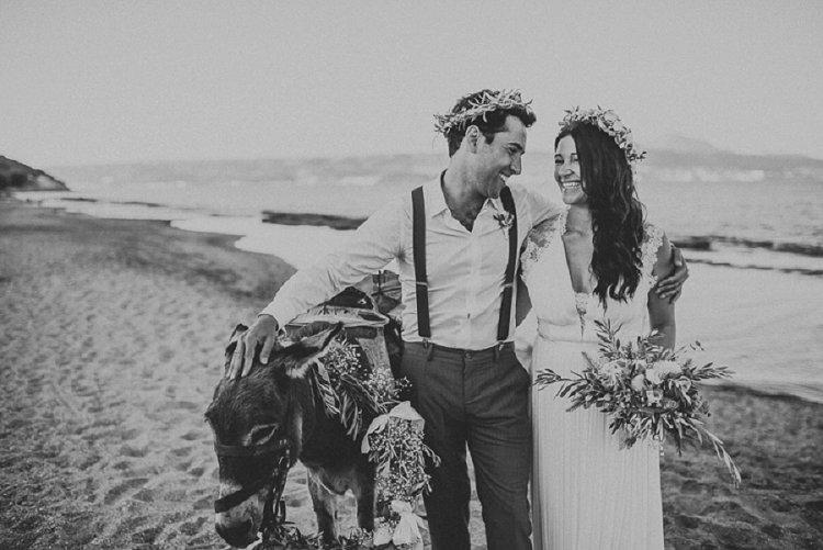 Destination Jewish Greek wedding on the beach in Crete_0038