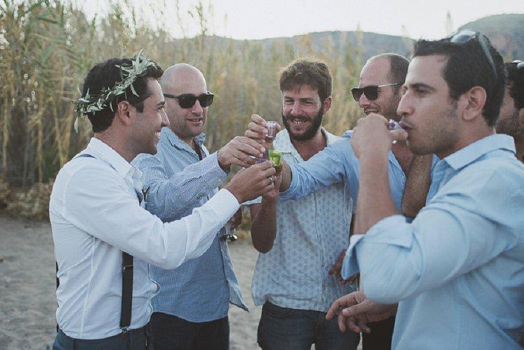 Destination Jewish Greek wedding on the beach in Crete_0042