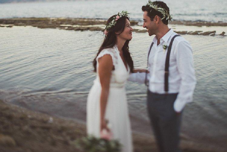 Destination Jewish Greek wedding on the beach in Crete_0049