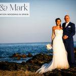 A picture-perfect Jewish wedding overlooking the sea, with an Enzoani gown at Los Monteros Golf and Spa Hotel, Marbella, Spain