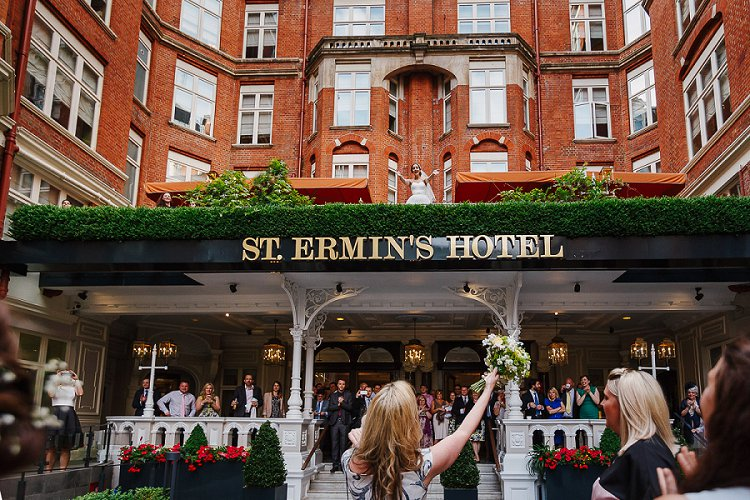 Jewish Wedding St Ermin's Hotel Westminster London UK_000031