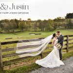 A rustic, horse farm Jewish wedding with an Enzoani bride at The Stables at Fox Crossing, Cochranville, Pennsylvania, USA