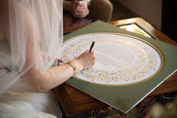 Jewish Wedding The Stables at Fox Crossing Pennsylvania USA_0013