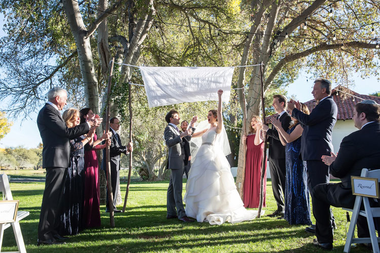Jewish Wedding Tubac Golf Resort Arizona USA26