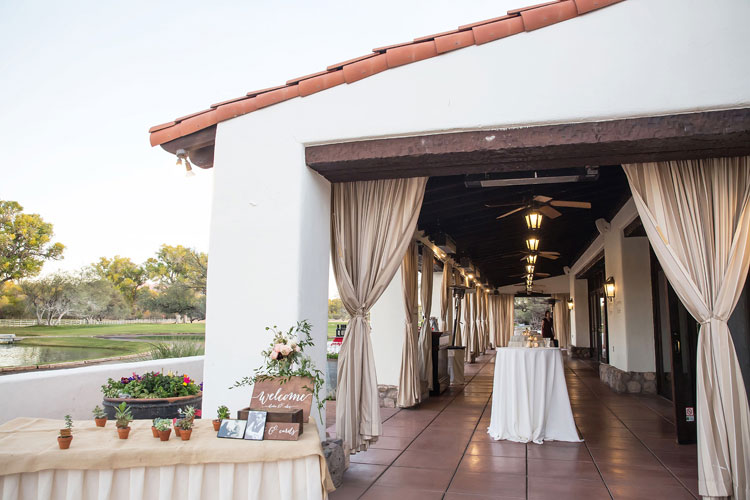 Jewish Wedding Tubac Golf Resort Arizona USA37