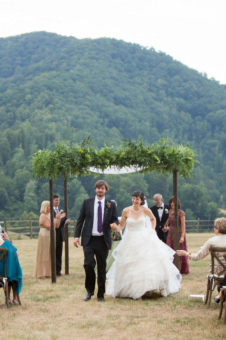 Jewish Wedding Asheville North Carolina USA