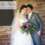A cactus-themed Jewish wedding at Tubac Golf Resort, Arizona, USA