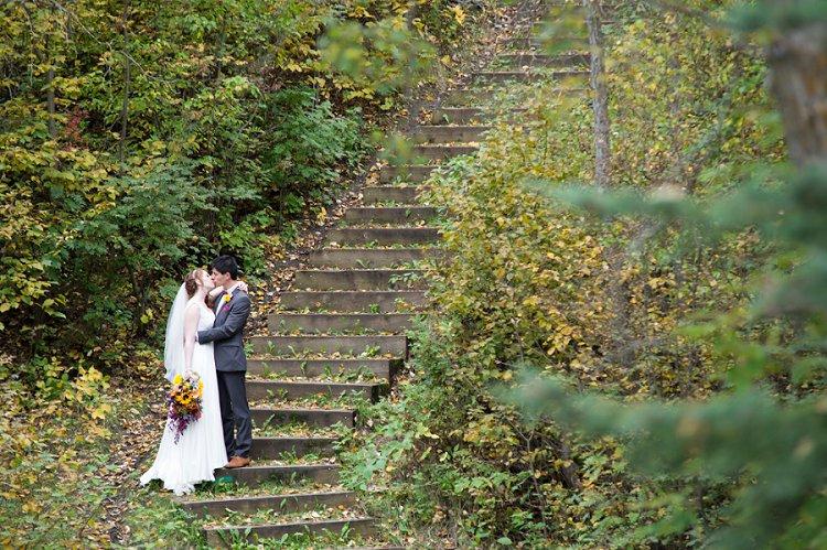 Jewish Nature themed wedding Riverdale Community Hall Edmonton Canada_0031