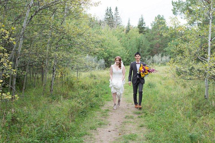 Jewish Nature themed wedding Riverdale Community Hall Edmonton Canada_0034