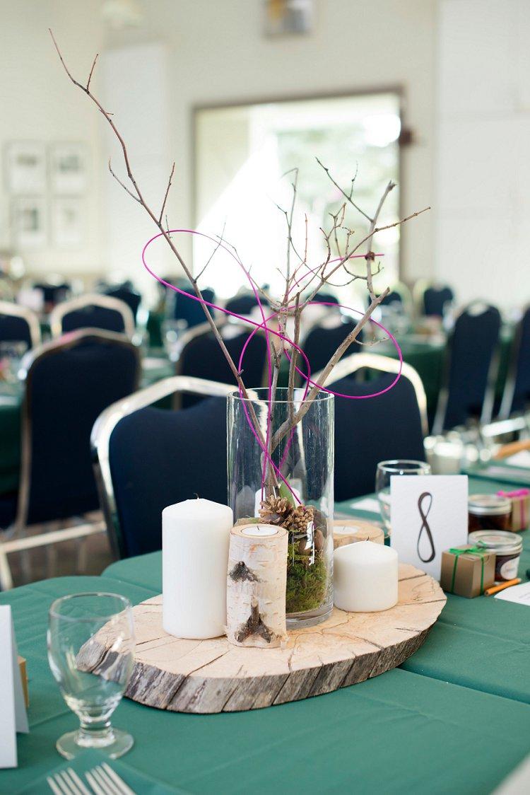 Jewish Nature themed wedding Riverdale Community Hall Edmonton Canada_0043