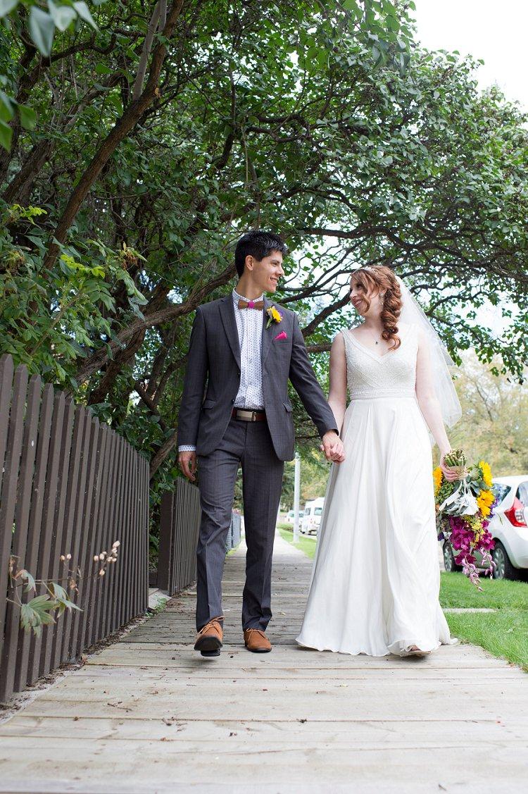 Jewish Nature themed wedding Riverdale Community Hall Edmonton Canada_0045