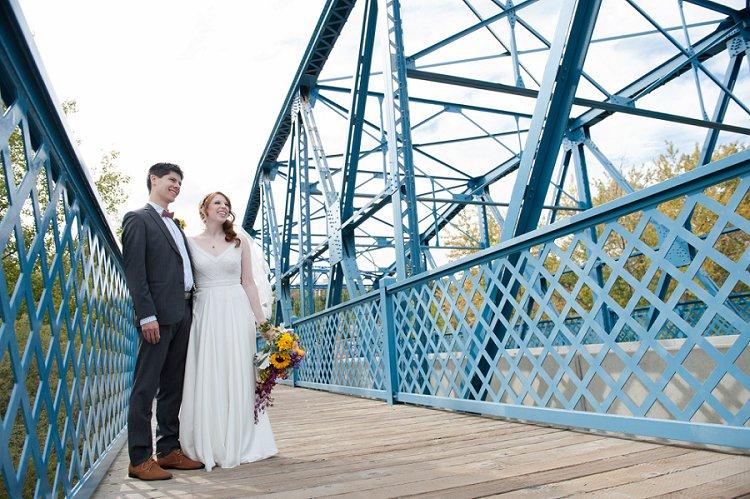 Jewish Nature themed wedding Riverdale Community Hall Edmonton Canada_0046