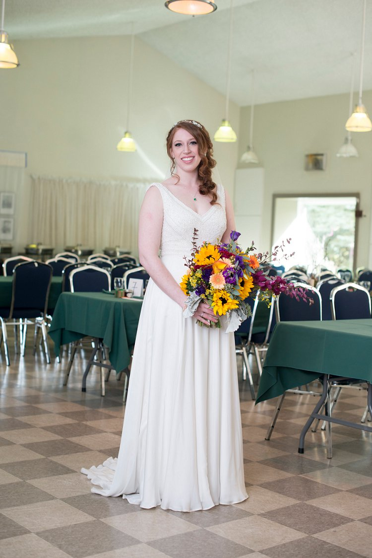 Jewish Nature themed wedding Riverdale Community Hall Edmonton Canada_0048